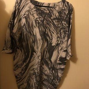 Dresses & Skirts - Italian Marble Print Cocoon Dress